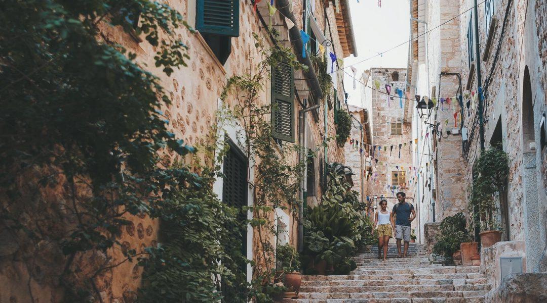 Kleine Gasse auf Mallorca