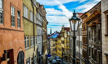 Enge Straßen und Gassen in Prag