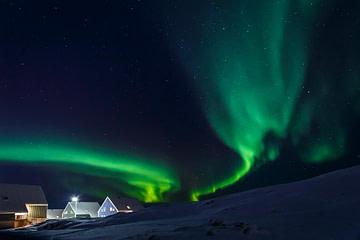 Himmel Über Grönland - Polarlichter
