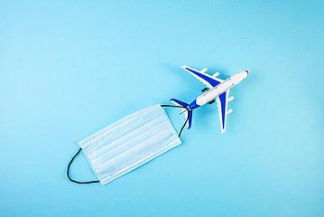 Hygiene im Flieger