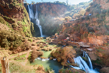 Ouzoud Waterfall. Morocco