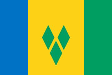 Flagge saint-vincent