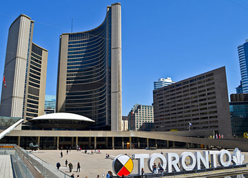 Toronto City Sign
