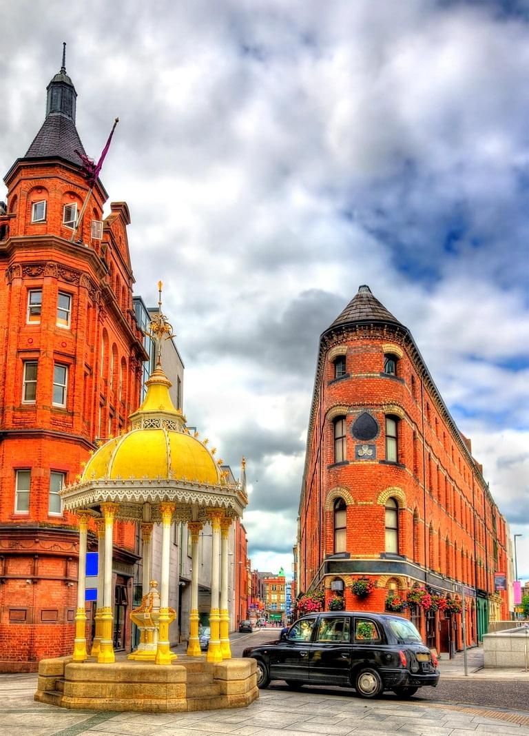 Black Cab in Belfast
