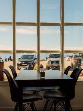 Café Toqqorfik in Nuuk, Grönland
