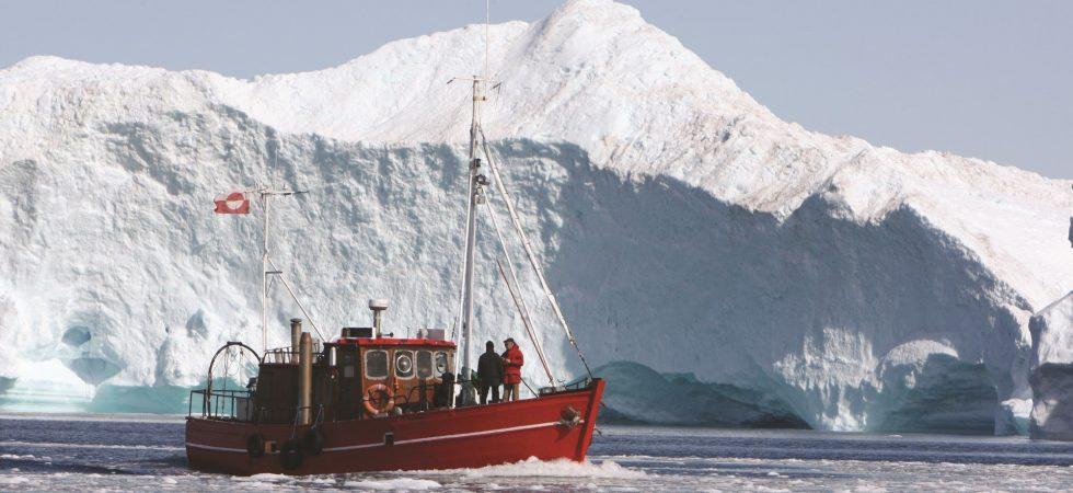 Ilulissat-Eisfjord in Grönland