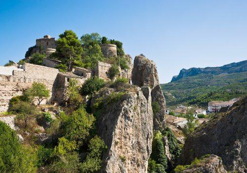 Burganlage Guadalest