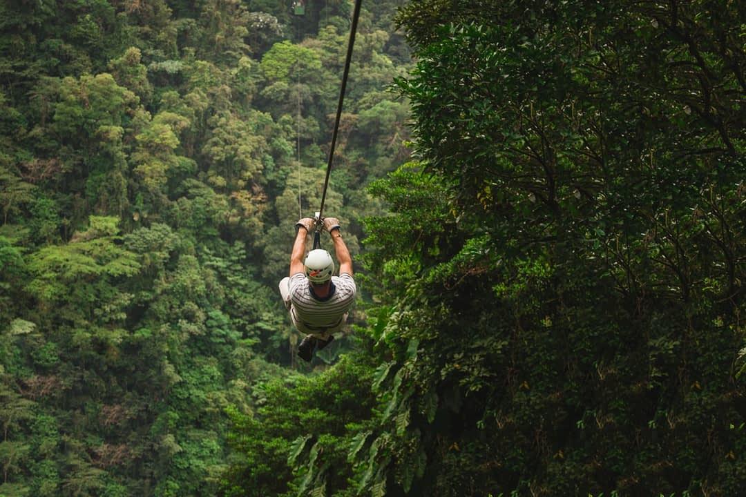 Zipline in Costa Rica