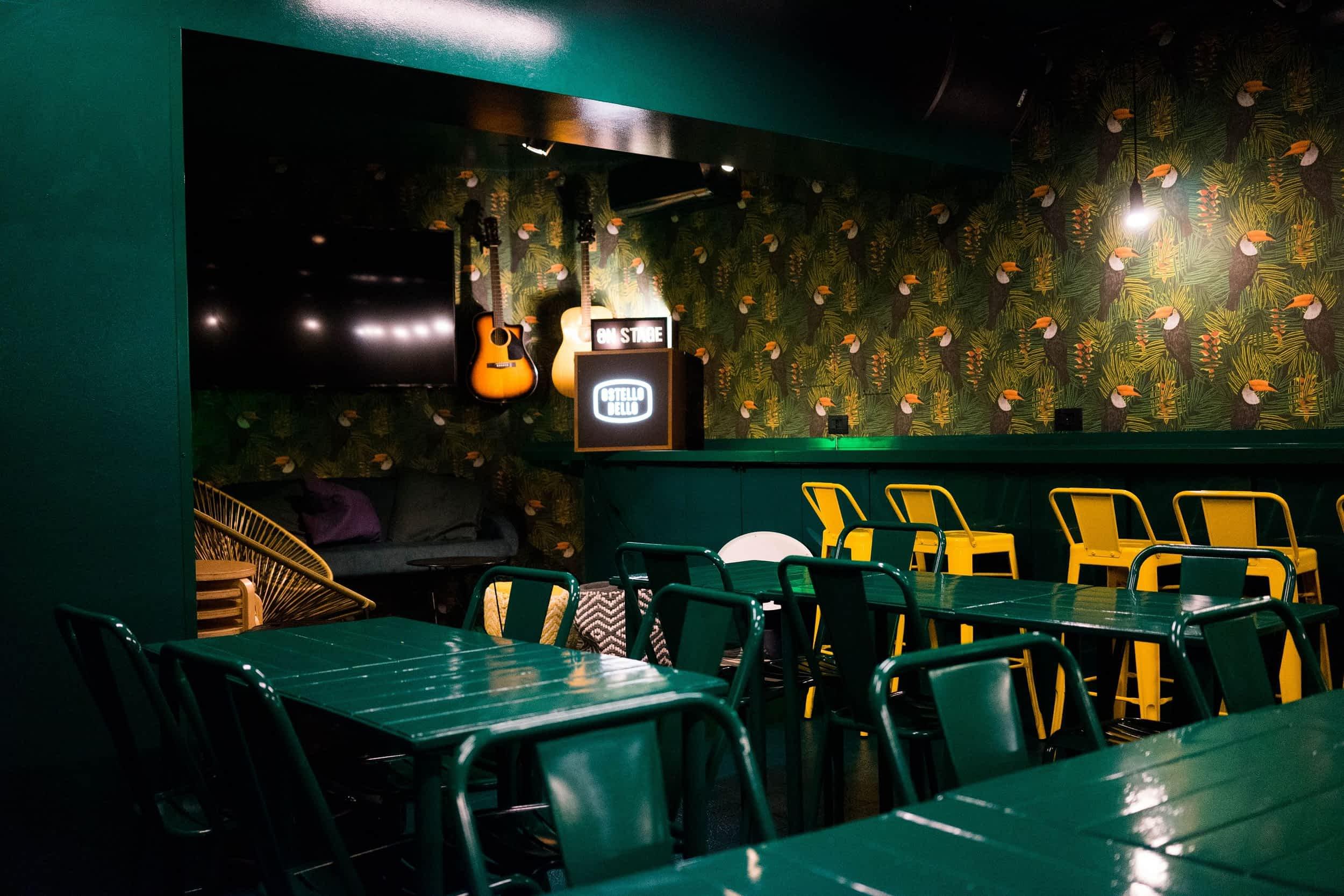 Ostello_Bello_Milano Zimmer leere Bar