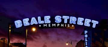 Beale Street Memphis at Night
