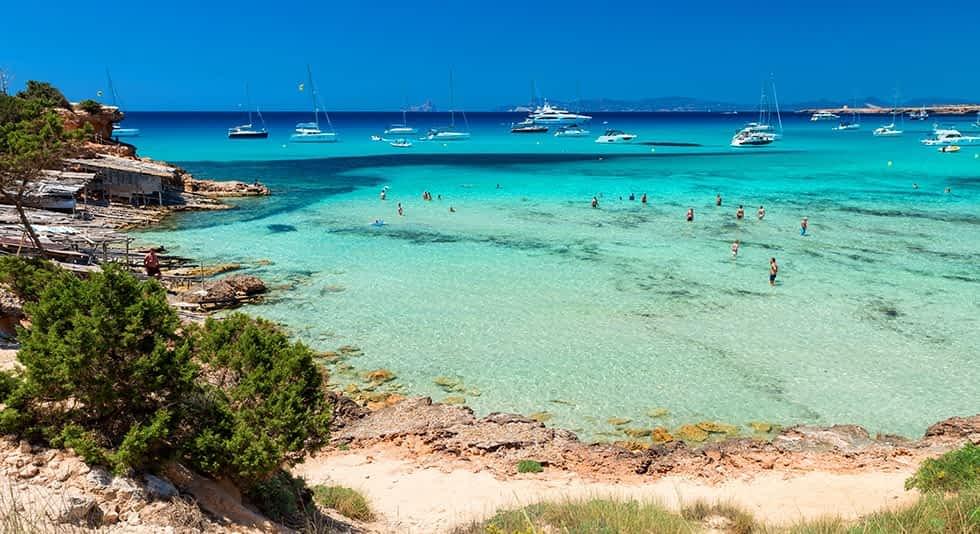 Formentera - Cala Saona