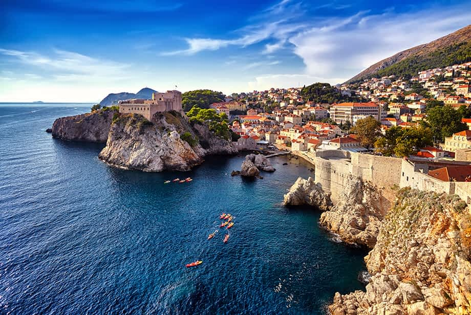 Dalmatia, Kroatien_Dubrovnik