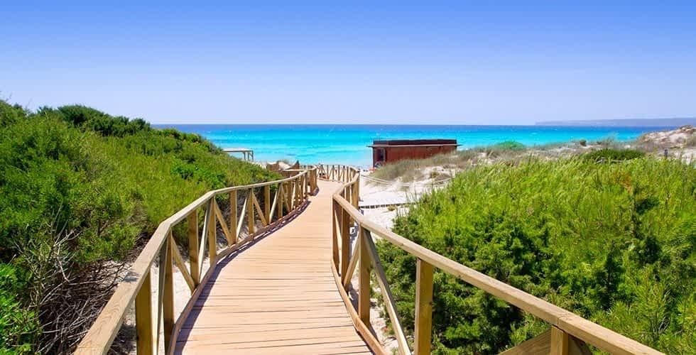 Formentera - Platja de Migjorn