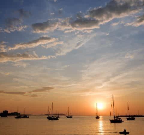 Sonnenuntergang Ibiza