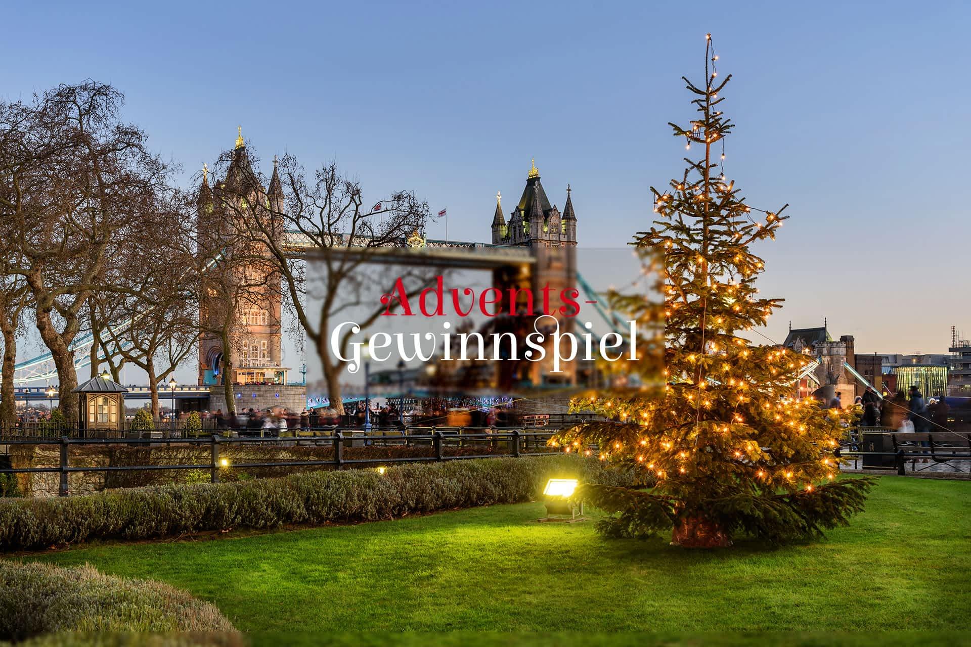 London Tower Bridge Adventsgewinnspiel Fluege.de