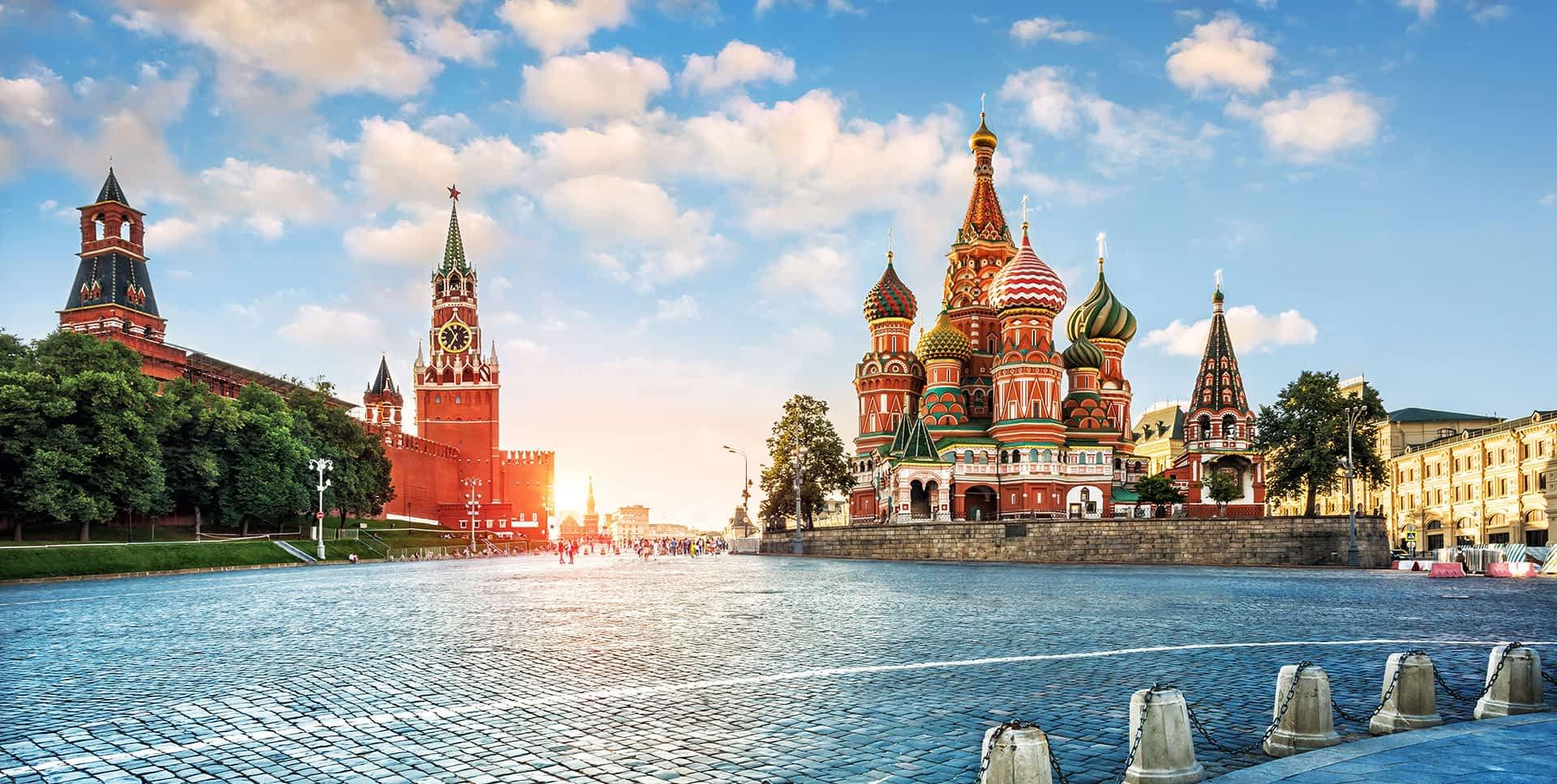 Moskau vom Roten Platz