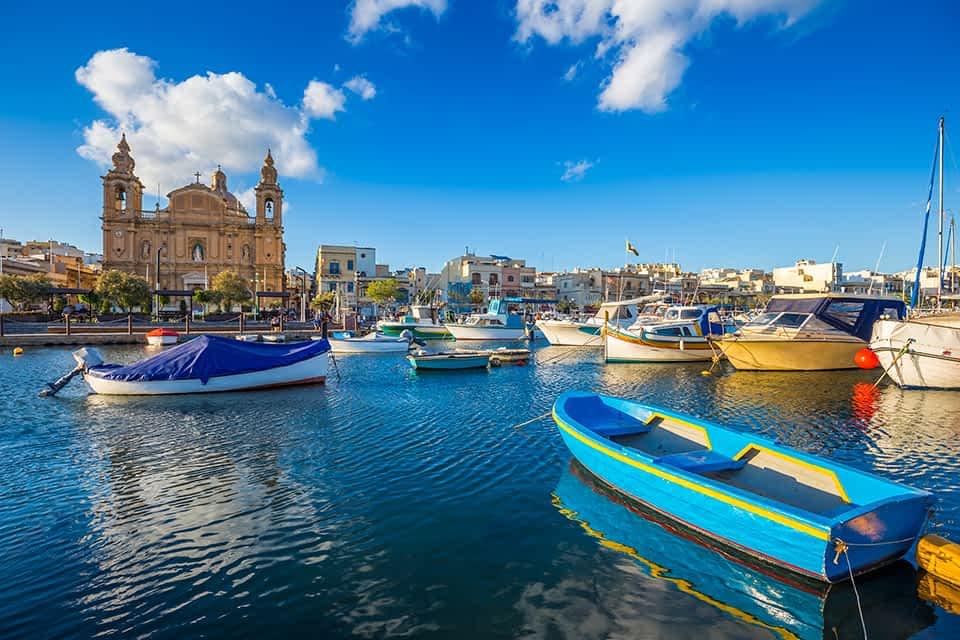 Mdina Hafen Malta