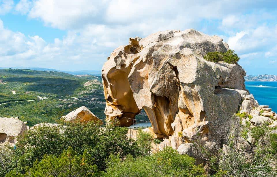 Bärenfelsen Capo d'Orso in Sardinien