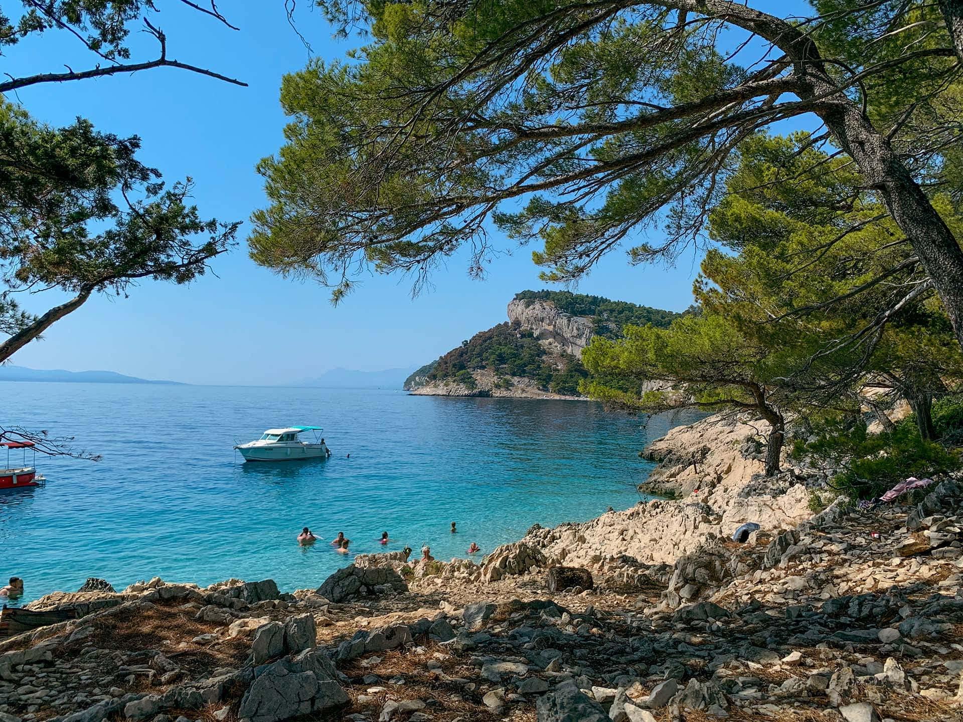 Versteckte Bade-Nischen Kroatien