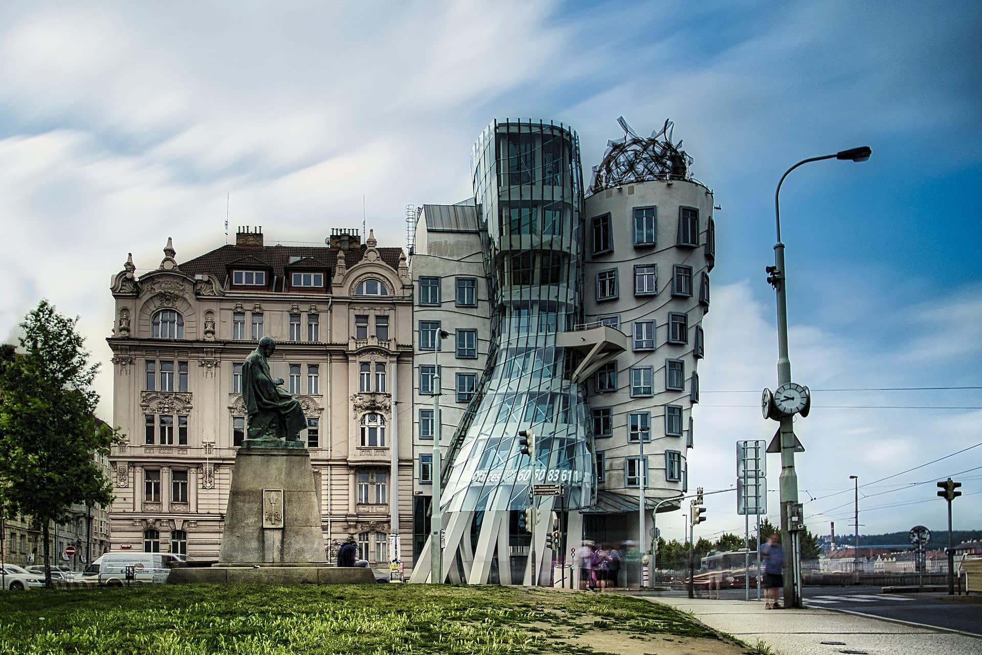 Dancing Houses in Prag