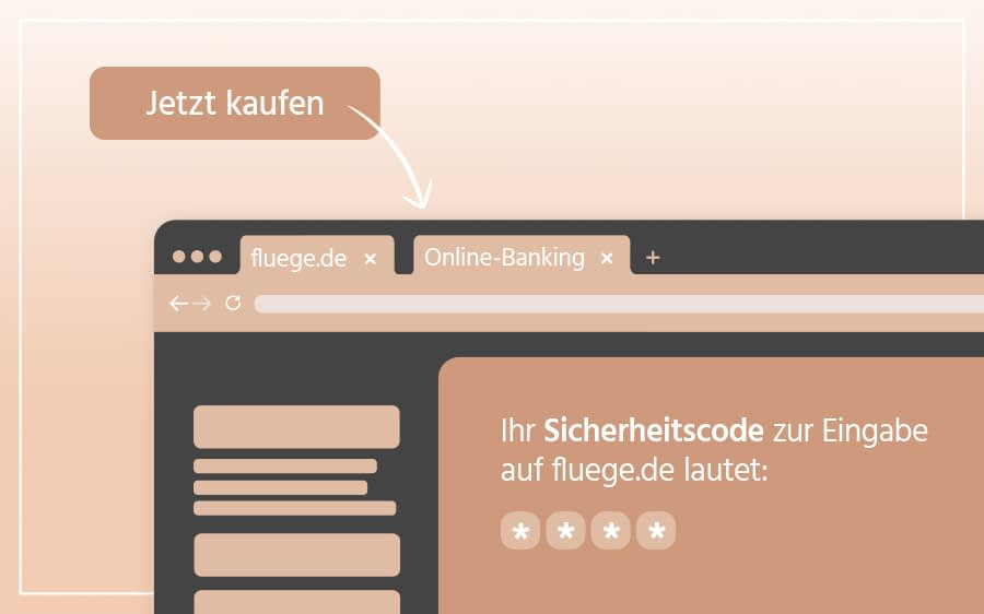 Zahlung via Online-Banking