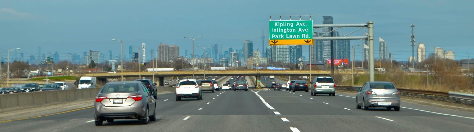 Highway in Toronto