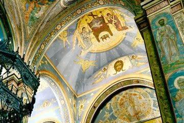 Malerei in der Kathedrale Mariä Himmelfahrt