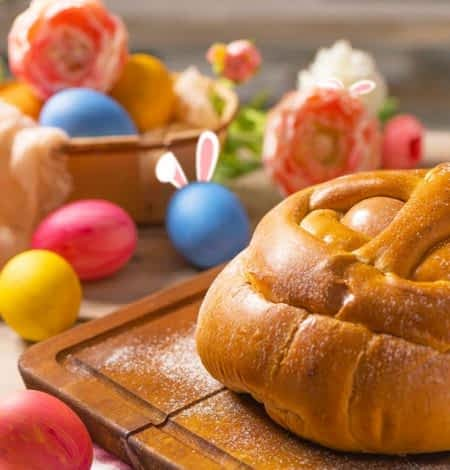 Folar und bunte Eier