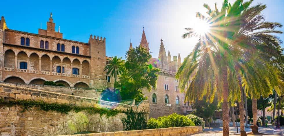 Innenstadt von Palma de Mallorca